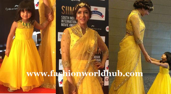 Lakshmi Manchu and Nirvana in SIMMA awards