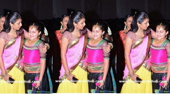Niharika konidela with Srikanth Daughter