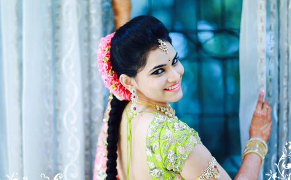 Bridal Makeup – Blush Fine art