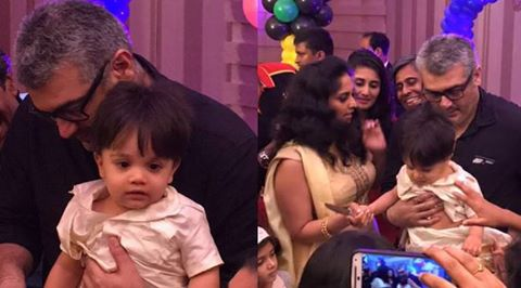 Shalini Ajith's Son Birthday photos ( unseen Pictures)