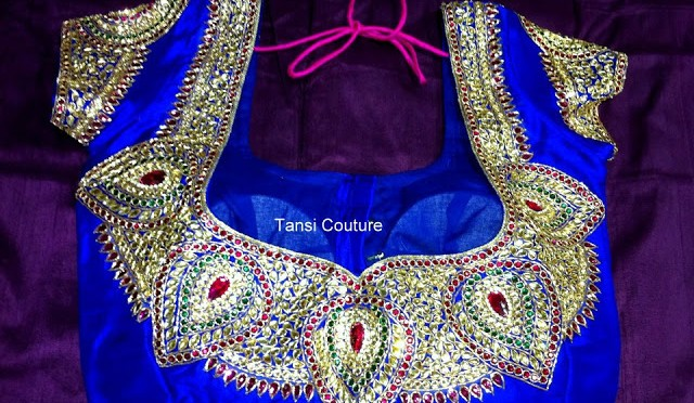 Tansi Couture – Designer blouse