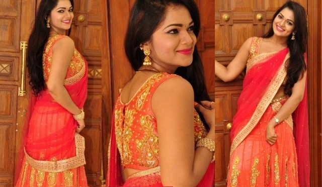 Ashwini in a Halfsaree ~Fashionworldhub~