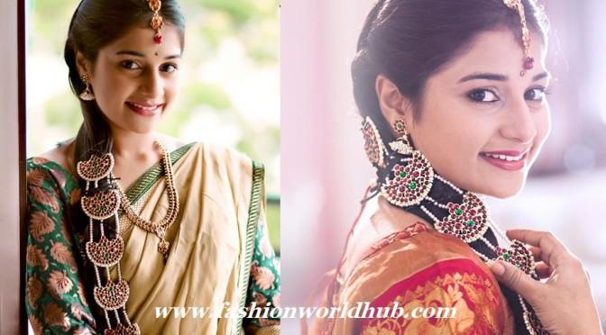 Jada billa Designs-Nuvvu Naku Nachav – Pinky ( Sudeepa)