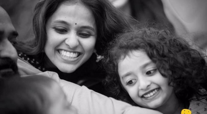 Singer Smitha & Daughter