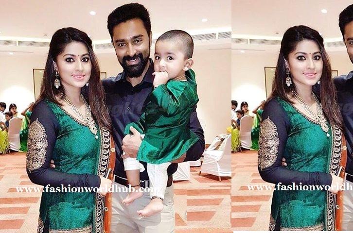 Sneha prasanna amp her son fashionworldhub