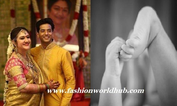 Sreedevi Vijay kumar & Rahul are now Mom & dad!