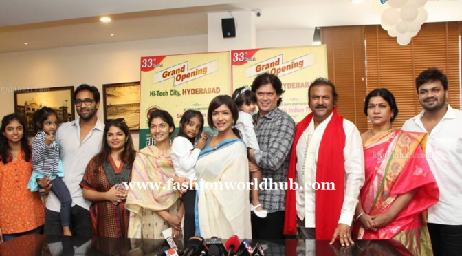 Lakshmi Manchu at Junior kuppana restaurant opening