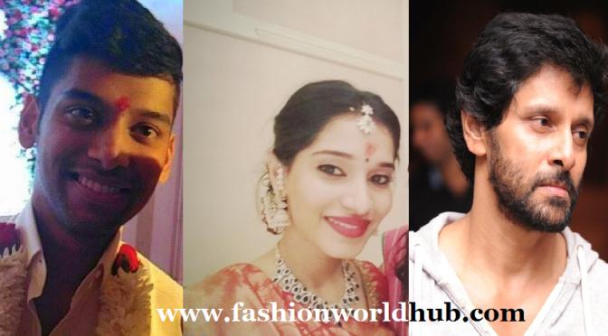 Chiyaan Vikram Daughter Akshita Engagement photos