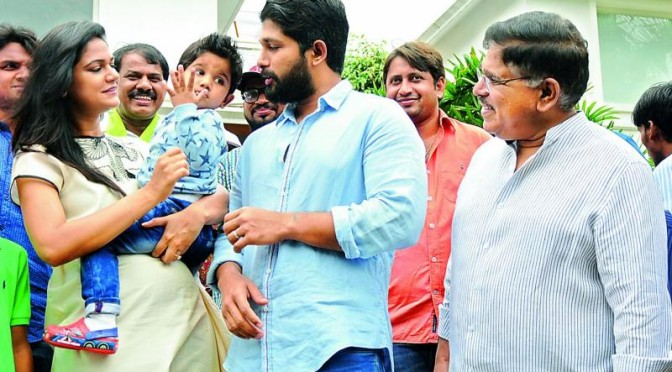 Baby no. 2 for Allu Arjun & Sneha!