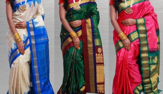 Buy Online- Gadwal Silk Sarees