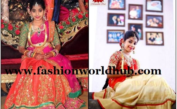 Designer Kid's Lehenga- Mrunalini Rao