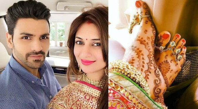 Mr And Mrs Vivek Dahiya's First Public Appearance