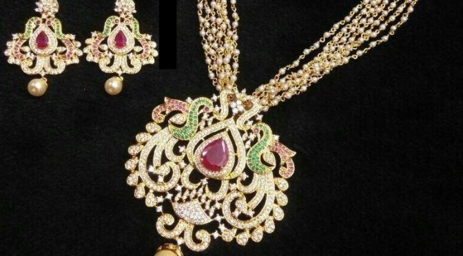 One gram Gold Necklace – INR 2500 RS