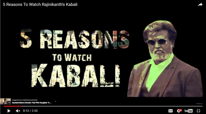 5 Reasons To Watch Rajinikanth's Kabali