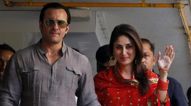 WOW..!! Saif and Kareena Expecting Their First Child..