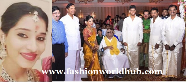 Karunanidhi & Vikram at Akshita and Ranjith Engagement