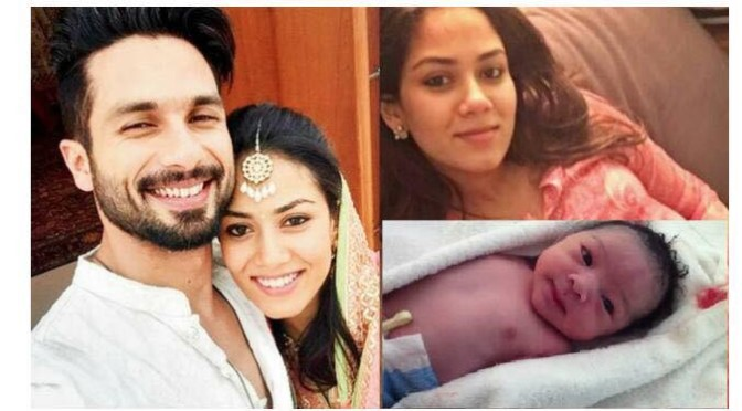 Congratulation! Shahid Kapoor and Mira Kapoor blessed with a baby girl!