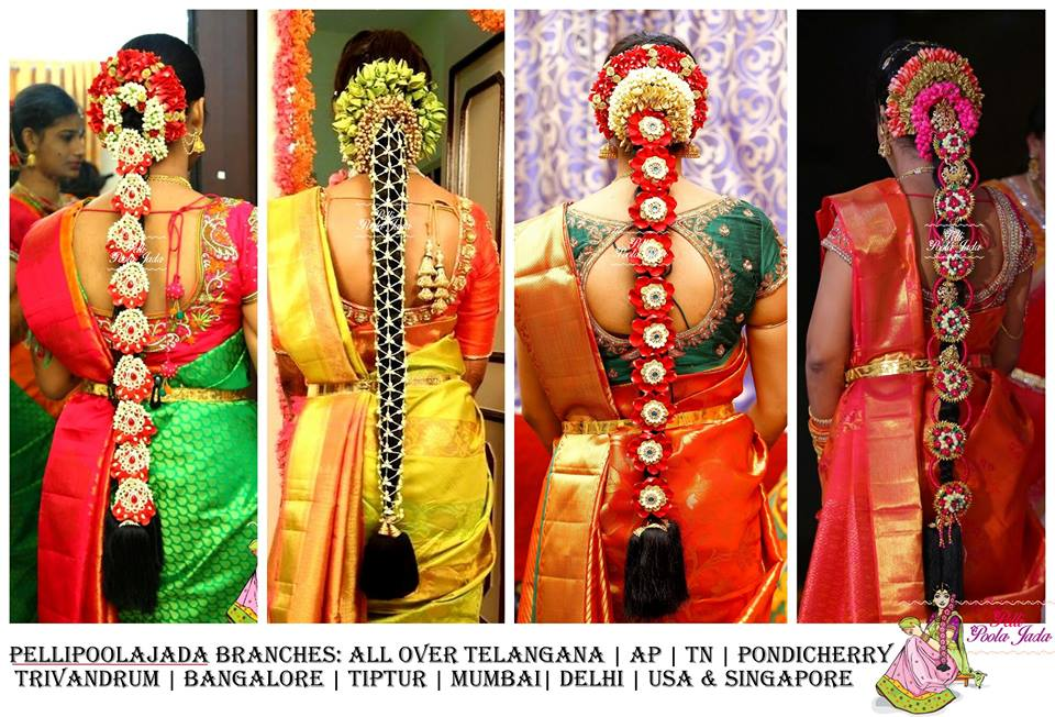 Different Style of Pelli Polla jada- contact -9705789849 tirupathi and chittoor