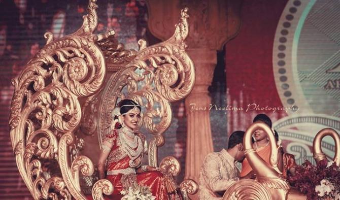 Entry of bride