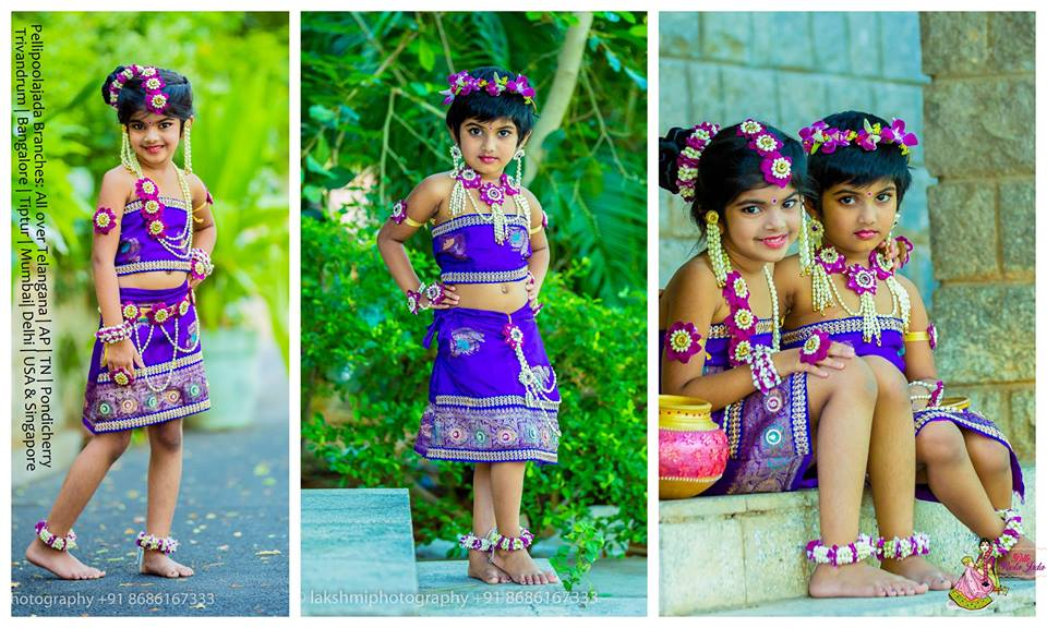 Floral jewelleyr fo Kids - Awesome dress matching jewellery