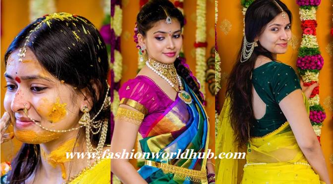 Haldi Function Photos of Ramya ( Fiance of Director krish)