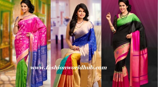 Kanchipuram Handloom Silk Sarees (Buy online)