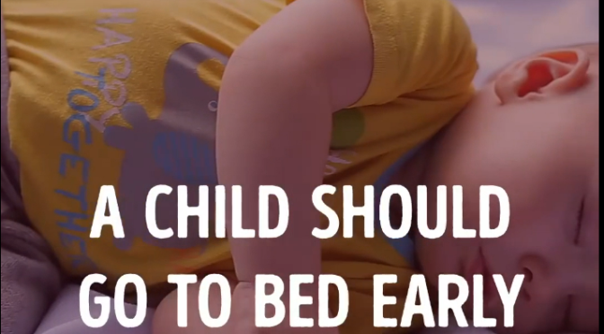 Why Children should Go early to bed! Excellent video
