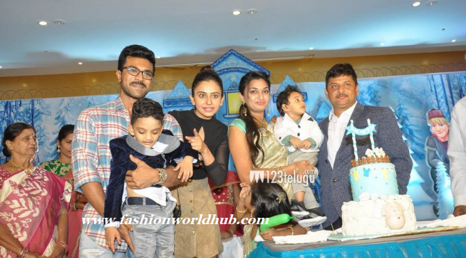 Director Surendar Reddy  Son Birthday photos ( Famous film KICK director)
