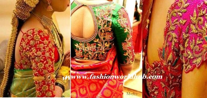 Maggam work blouses – Latest designs