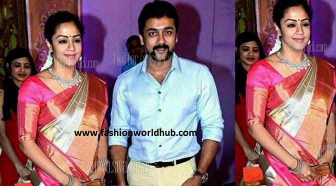 Surya and Jyothika at Radhika's Daughter Rayane's Wedding