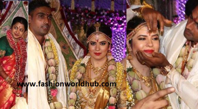 Radhika daughter Rayane wedding photos