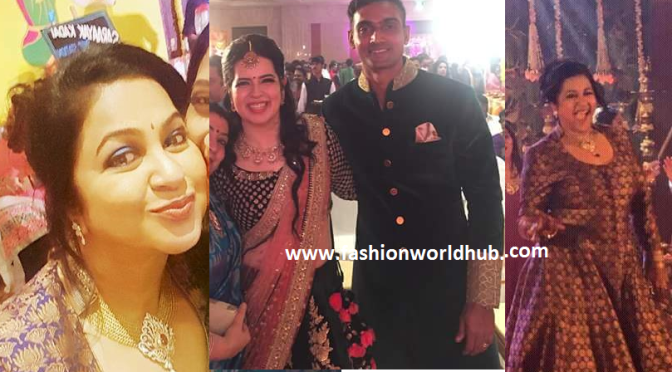 RadhikaDaughter Rayanee Sangeet photos!