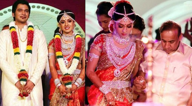 55 Crores Wedding cost! Costliest wedding. No gold! Only Diamonds on her wedding!