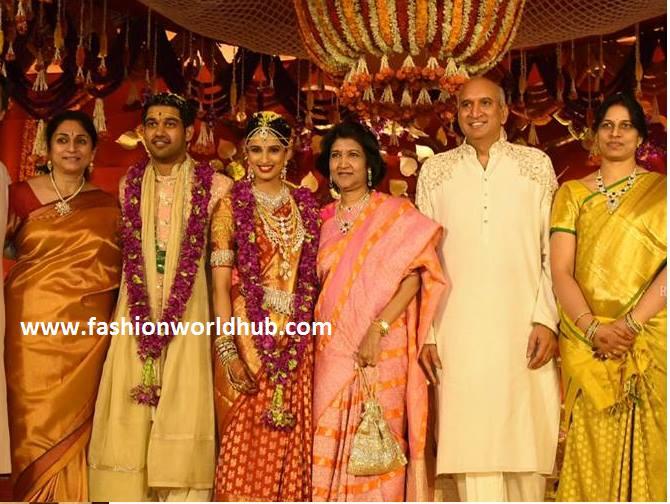 Maa Tv Chairman Prasad Nimmagadda Daughter Wedding Photos Fashionworldhub