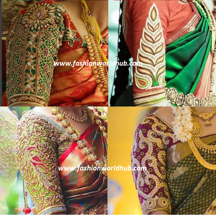 ab5dec6878c Latest Maggam work blouse designs 2016! Awesome designs