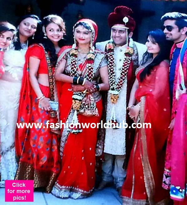 Saath nibhana saathiya Famous Actress Rashi Unseen wedding ...  Saath nibhana s...