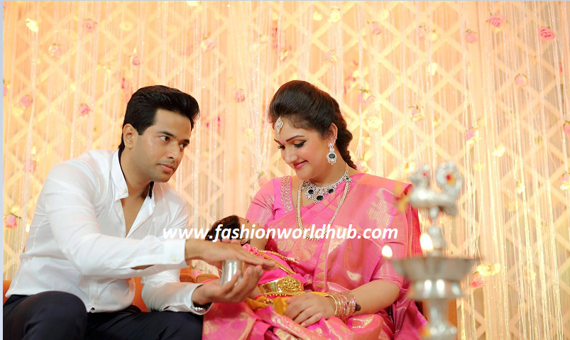 Sreedevi Amp Rahul Named Their Baby Name As