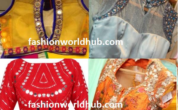 Latest Embellished Designer Blouses