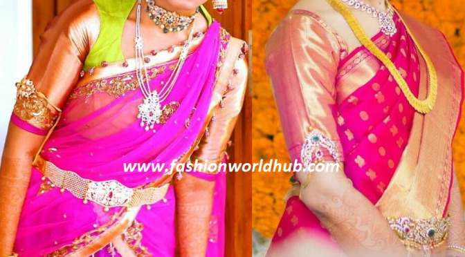 30 Stunning blouse designs ! Designer & maggam work blouses