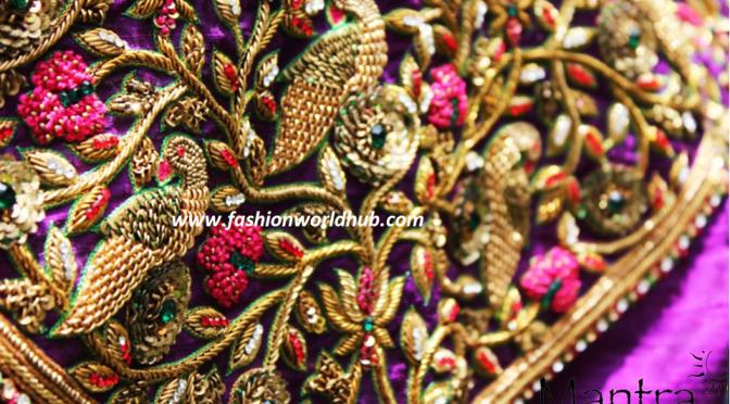 Bridal designer Maggam work blouses