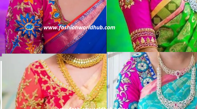 Latest Maggam work blouse designs 2016! Awesome designs
