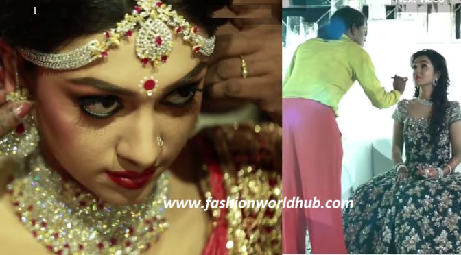 Dr.Ravi pillai daughter Dr Arrathi wedding makeup by Renju Renjimar!