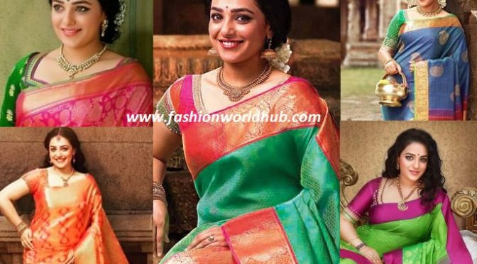 Nitya Menon in Beautiful samudrika pattu Saree! Buy online
