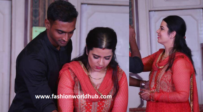 First look of Rayanee( Radhika daughter)  after her wedding!