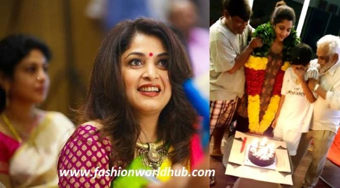 Ramya krishna 46th birthday photos!