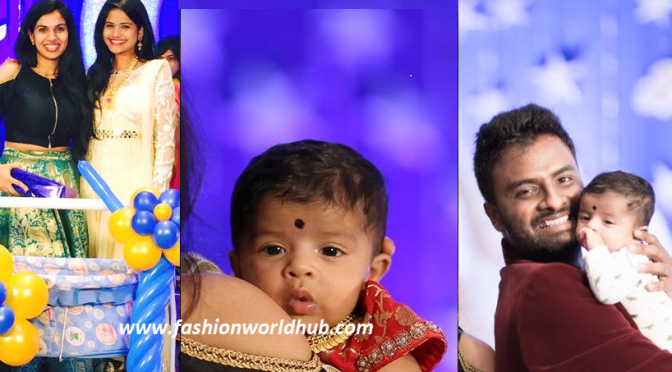 Cute little Sravana bhargavi  & Vedala hemachandra baby photos!