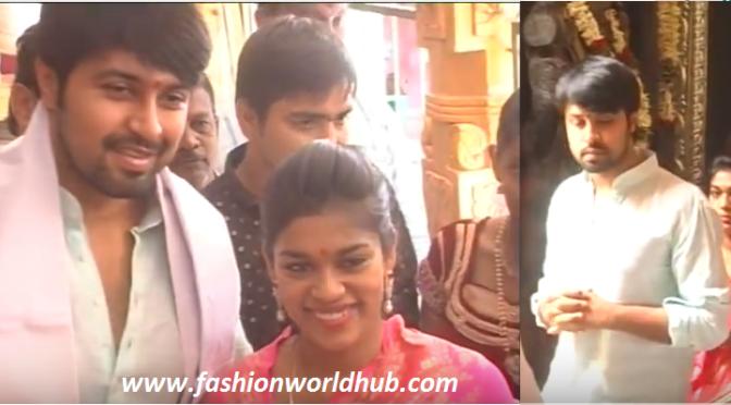 Exclusive video of Sreeja & kalyan Visit to Vijayawada Temple!