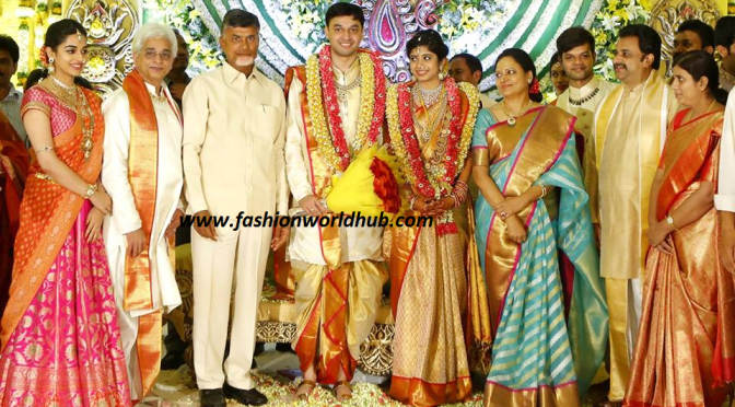 Vasundhara Diamond Jewellery Son Wedding Photos!
