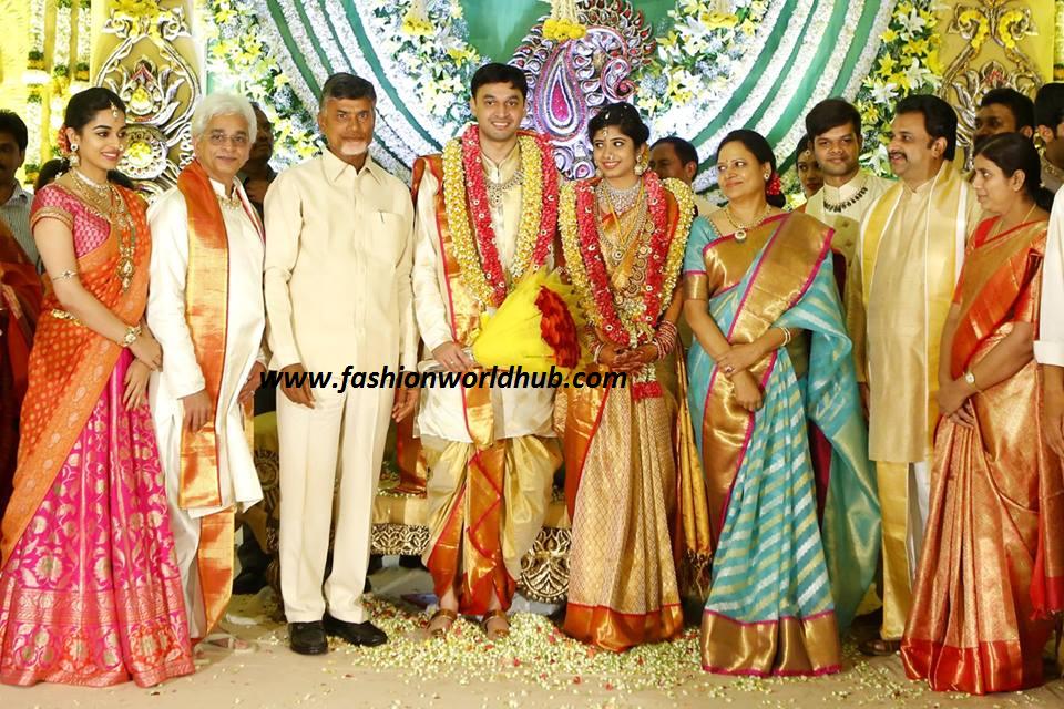 CEO of Vasundhara Diamond Jewellery Son Wedding Photos ...