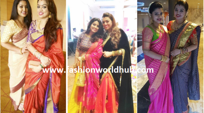 Perfect outfit of Sneha & sangeeta inspire us!
